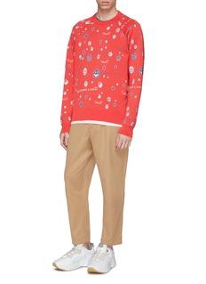 Acne Studios 'Kiran' smiley face jacquard sweater