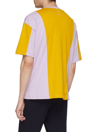 Back View - Click To Enlarge - Acne Studios - Colourblock T-shirt