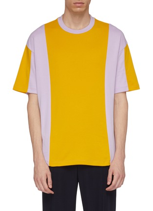 Main View - Click To Enlarge - Acne Studios - Colourblock T-shirt
