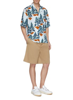 Acne Studios 'Simon' pine tree print short sleeve shirt