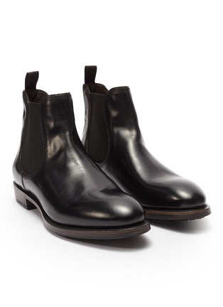 Detail View - Click To Enlarge - PROJECT TWLV - 'Hanoi' leather Chelsea boots