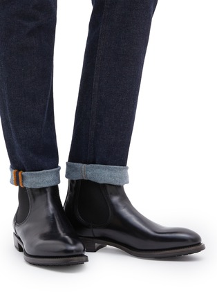 Figure View - Click To Enlarge - PROJECT TWLV - 'Hanoi' leather Chelsea boots