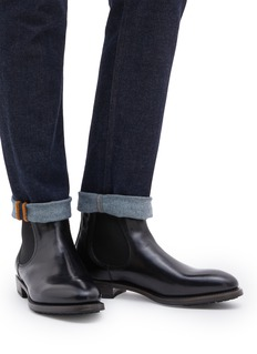 Project TWLV 'Hanoi' leather Chelsea boots