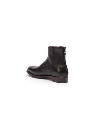 - PROJECT TWLV - 'Flame' leather boots