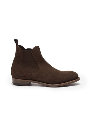 Main View - Click To Enlarge - PROJECT TWLV - 'Hanoi' suede Chelsea boots