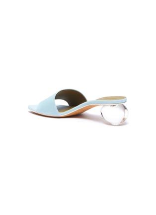 - GRAY MATTERS - 'Mildred' egg heel suede sandals
