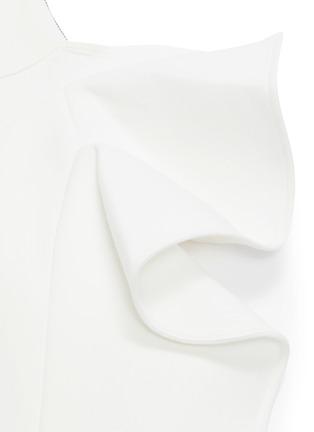 - Maticevski - 'Olimpus' ruffle drape skirt