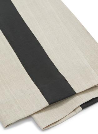 - PETAR PETROV - 'Halma' stripe outseam pintuck pants