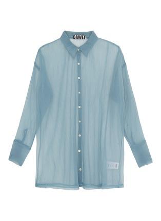 Main View - Click To Enlarge - DAWEI - Organdy shirt