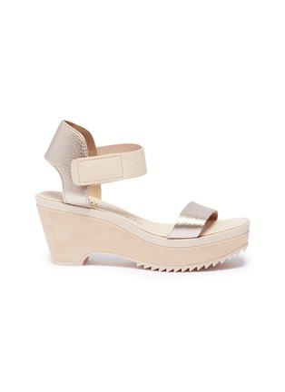 2c78345ee86 Pedro García.  Franses  suede wedge sandals