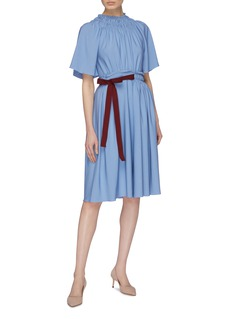 Roksanda 'Silba' tie waist ruched dress