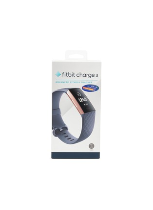 Main View - Click To Enlarge - Fitbit - Charge 3 fitness tracker – Blue Grey/Rose Gold Aluminium