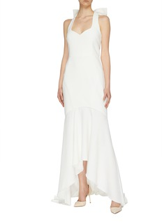 Rebecca Vallance 'Love' bow back high-low gown