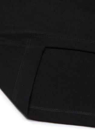 - ROSETTA GETTY - Asymmetric mock neck sleeveless top