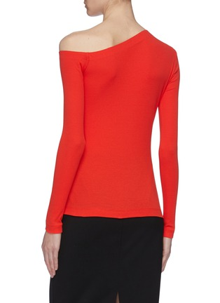 Back View - Click To Enlarge - ROSETTA GETTY - One-shoulder top