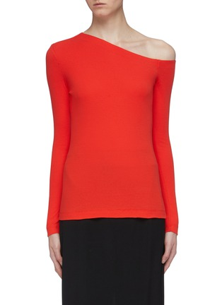 Main View - Click To Enlarge - ROSETTA GETTY - One-shoulder top