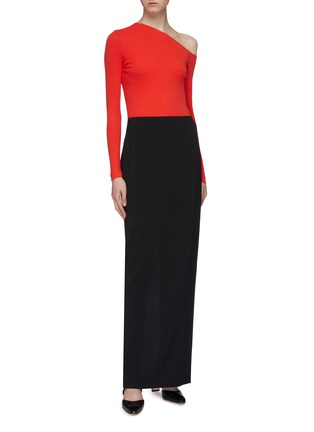 Figure View - Click To Enlarge - ROSETTA GETTY - One-shoulder top