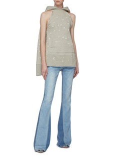 TRE by Natalie Ratabesi 'Cher' colourblock flared jeans