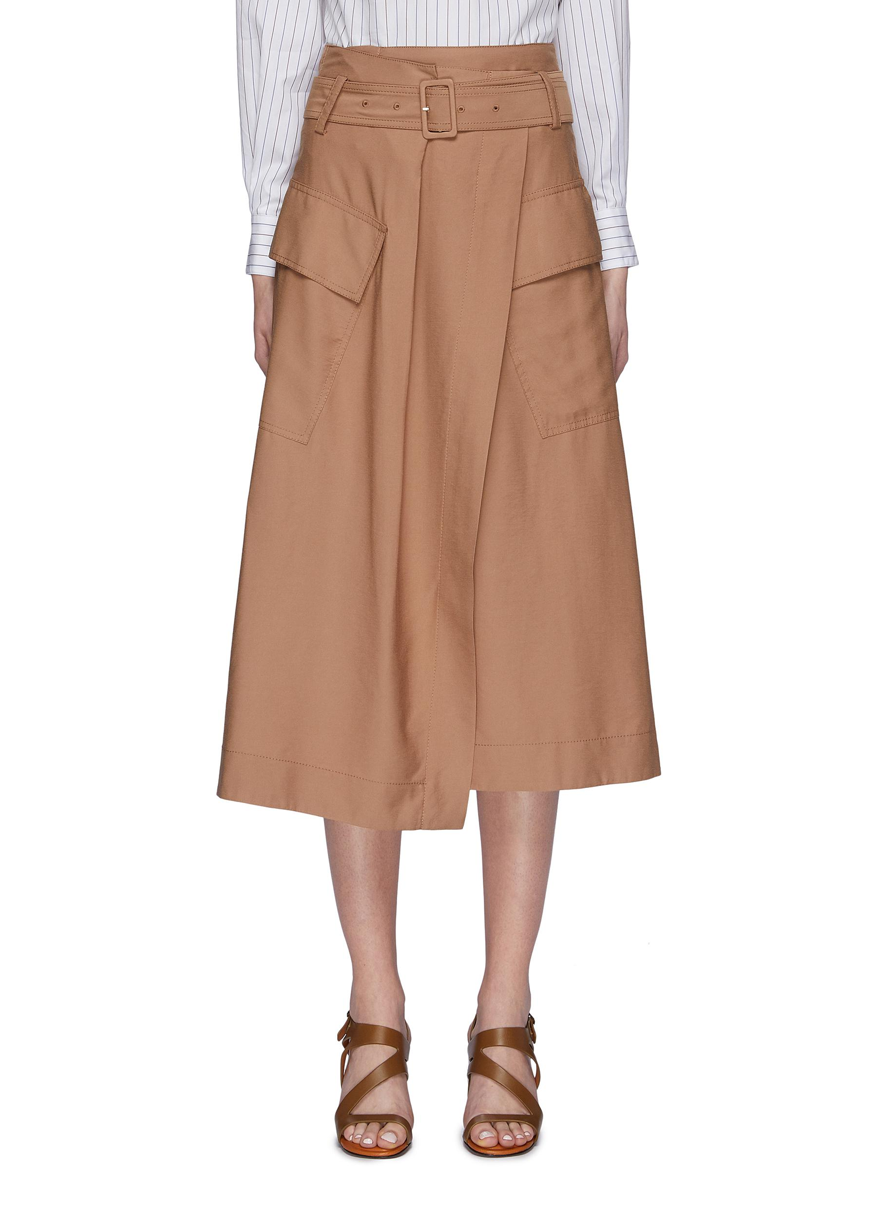 f69059e0444 Cargo Skirts With Pockets   Saddha