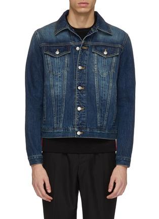Main View - Click To Enlarge - Alexander McQueen - Denim jacket