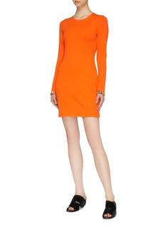 3.1 Phillip Lim Ring paillette cuff mini dress