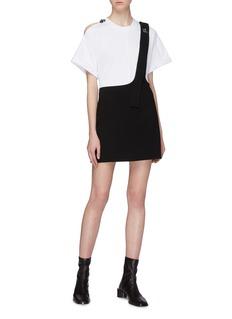 3.1 Phillip Lim Extended single shoulder strap mini skirt