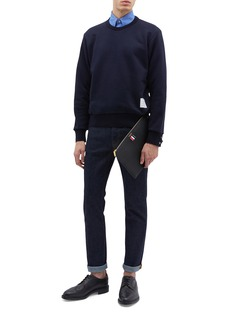 Thom Browne Stripe back sweatshirt
