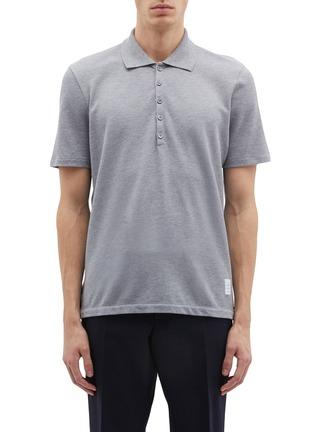 83927d3676da Thom Browne Stripe back polo shirt