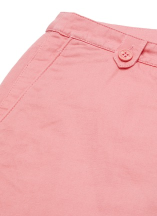 - ORLEBAR BROWN - x 007 James Bond 'Thunderball Day' cotton-linen shorts