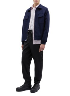 3.1 Phillip Lim Stripe outseam virgin wool jogging pants