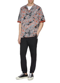 3.1 Phillip Lim Palm tree jacquard souvenir shirt