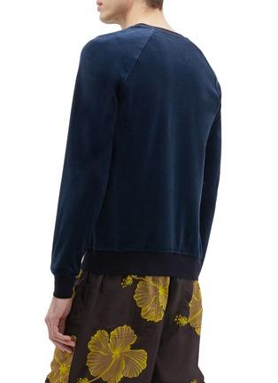 Back View - Click To Enlarge - 3.1 PHILLIP LIM - Velour raglan sweatshirt