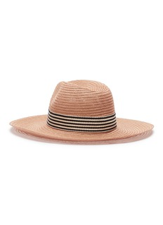 Eugenia Kim 'Emmanuelle' stripe ribbon straw hat