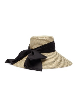Main View - Click To Enlarge - EUGENIA KIM - 'Mirabel' straw hat