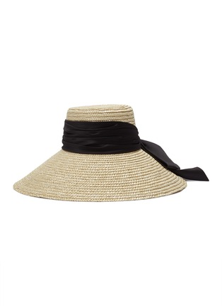 Figure View - Click To Enlarge - EUGENIA KIM - 'Mirabel' straw hat