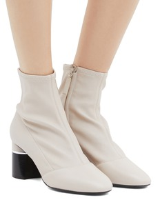 3.1 Phillip Lim 'Drum' stretch leather ankle boots