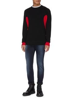 Neil Barrett Colourblock panel sweater