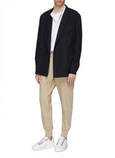 WOOYOUNGMI Twill cargo track pants