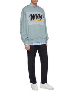 WOOYOUNGMI Logo print sweatshirt