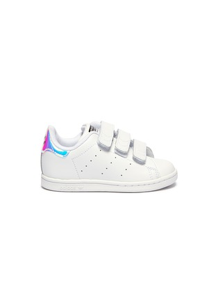 pick up 38f82 e06fe 'Stan Smith' holographic collar leather toddler sneakers