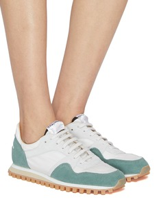 Spalwart 'Marathon Trail Low' suede panel sneakers