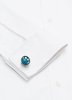 Tateossian Cavansite cufflinks