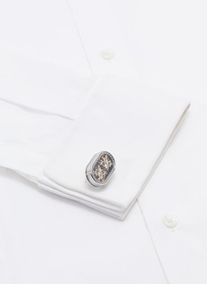 Tateossian Double Tourbillon Gear cufflinks