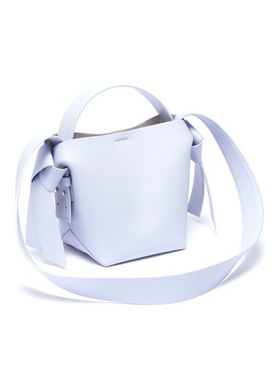 Detail View - Click To Enlarge - ACNE STUDIOS - Knot strap leather tote