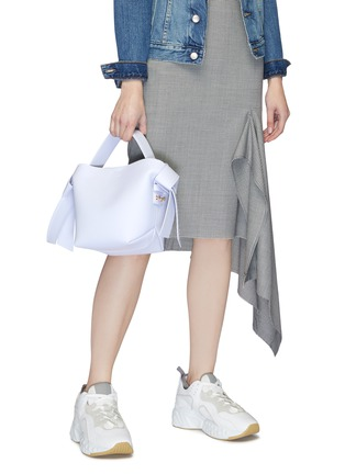 Front View - Click To Enlarge - ACNE STUDIOS - Knot strap leather tote