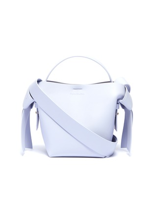 Main View - Click To Enlarge - ACNE STUDIOS - Knot strap leather tote