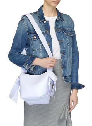 Figure View - Click To Enlarge - ACNE STUDIOS - Knot strap leather tote
