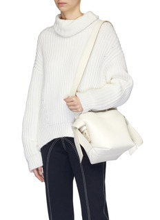 Acne Studios 'Musubi Mini' knot strap leather tote