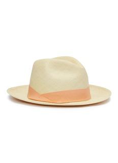 Sensi Studio Toquilla palm straw fedora hat