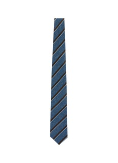 stefanobigi milano 'Rio' stripe textured silk tie
